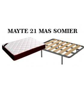 PACK MAYTE 21 MAS SOMIER 180