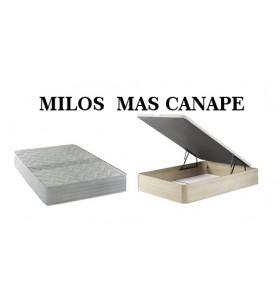 PACK MILOS MAS CANAPE DE...