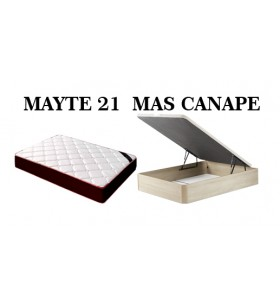 PACK MAYTE 21 + CANAPE