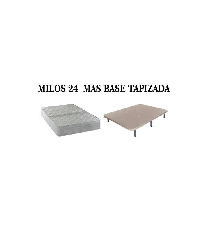 PACK MILOS 24 MAS BASE TAPIZADA