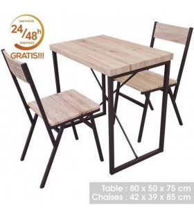 SET MESA INDUSTRIAL 80X50+...