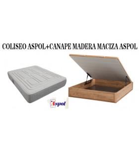 PACK COLCHON COLISEO ASPOL...