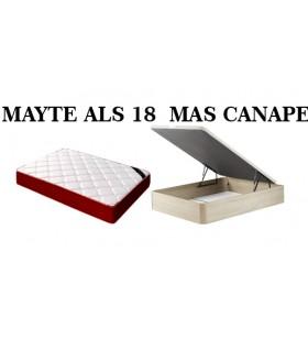 PACK ALS MAS CANAPE 105*180...