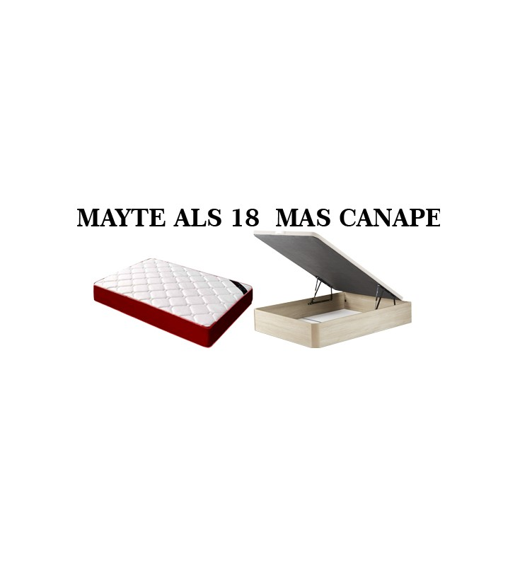PACK ALS EXCLUSIVE MAS CANAPE 90*180 ULTIMA UNIDAD